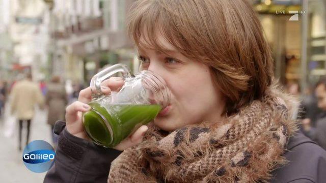 Der Powerdrink schlechthin: Algen-Limonade
