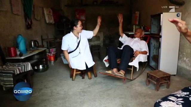 Die Ärztin ohne Beine