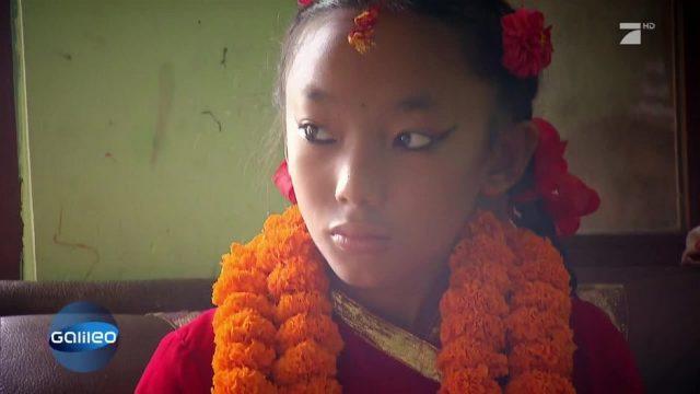 Die Kindgöttinnen von Nepal