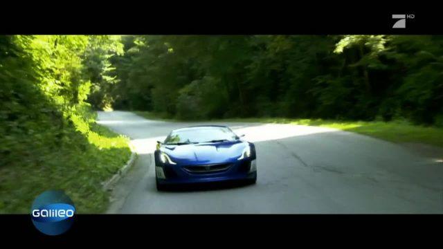 Die schnellsten Elektroautos der Welt