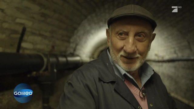 Dieser Engländer züchtet Fische in einem Bunker