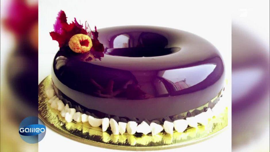 Elegante Nascherei Die Mirror Cake Glasur