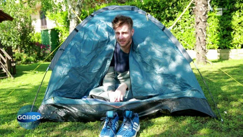 Fremde Gärten als Camping-Alternative