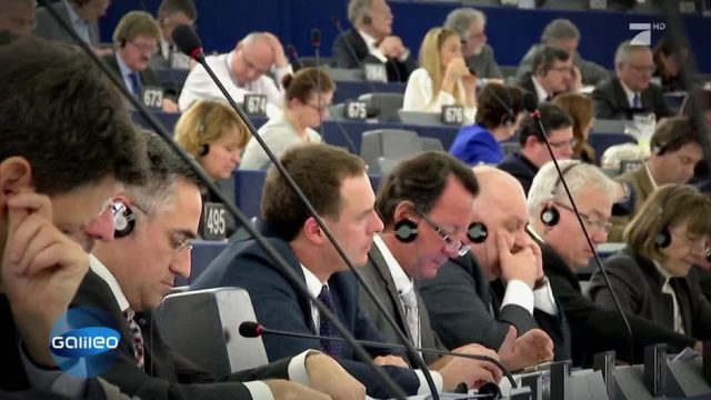 Hinter den Kulissen des EU-Parlaments