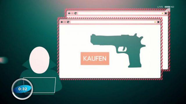 Illegale Waffen von Darknet - Was ist das?