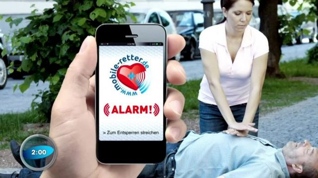 Lebensretter-App: Hilfe in unter 4 Minuten