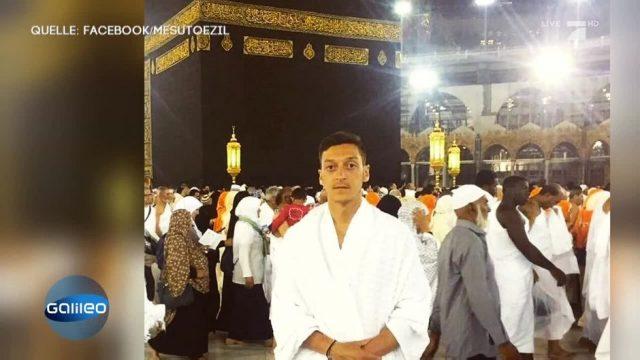 Mesut Özil in Mekka