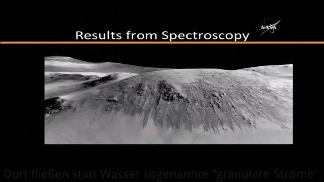 Nasa-Forscher entdecken Irrtum: Auf dem Mars fließt gar kein Wasser, sondern Sand