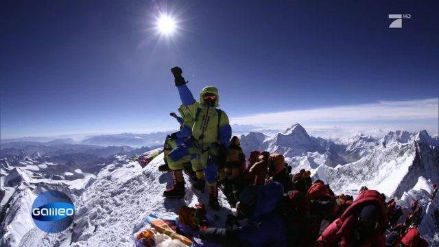 Platz 1: On top of the World - Aufstieg auf den Mount Everest