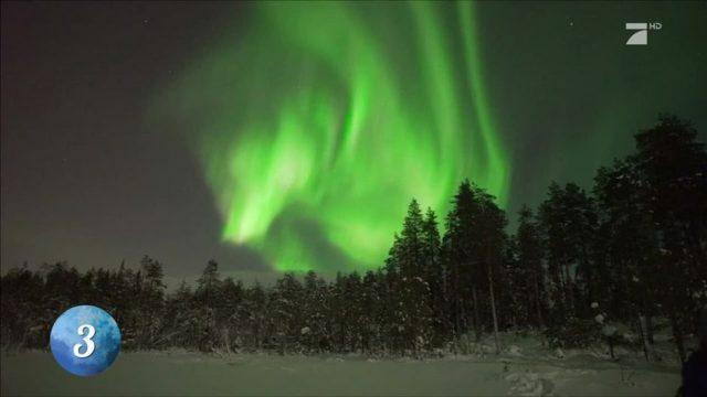 Platz 3: Die magischen Polarlichter Islands