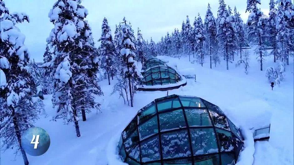 Platz 4 Das Glasiglu Hotel In Lappland