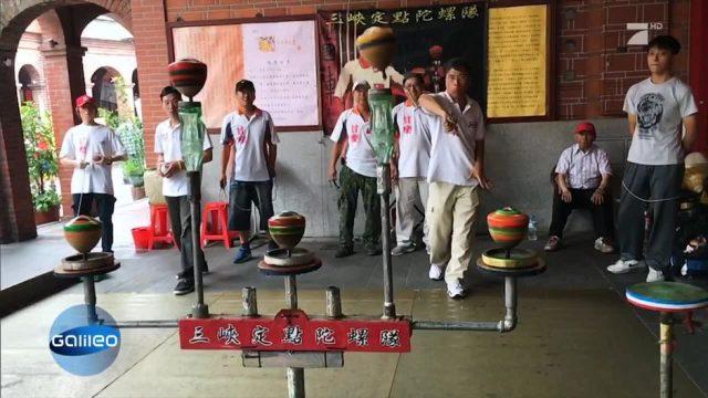 Taiwans beliebter Trendsport: Kreiselwerfen