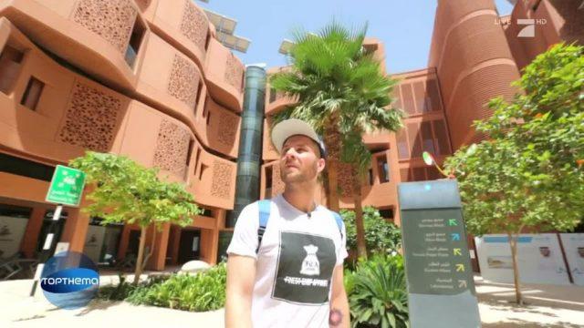 Umweltschonend und nachhaltig: Die Zukunftsstadt Masdar City