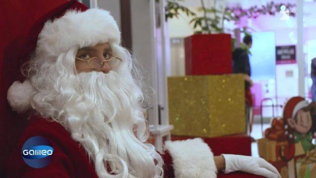 Verrücktes Amerika: Der harte Job als Weihnachtsmann