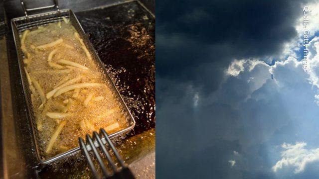 Was hat Frittenfett mit der Wolkenbildung zu tun? Wir erklären es dir!