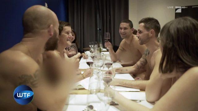What the Fakt: Das Nackt-Restaurant