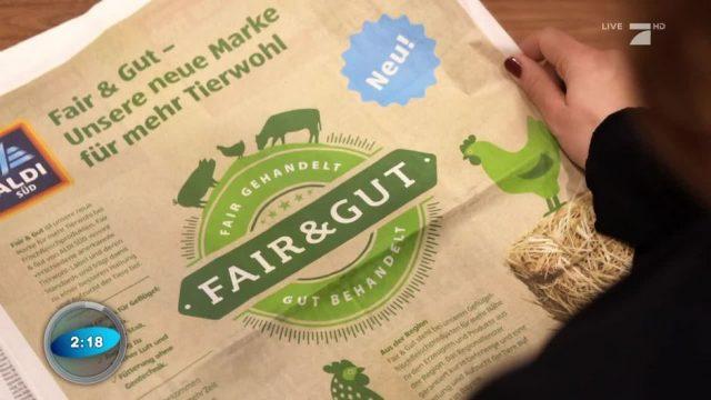 """Aldi führt Tierwohlmarke """"Fair & Gut"""" ein - was steckt dahinter?"""