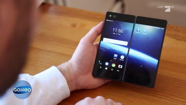 Das Smartphone mit doppelten Bildschirm im Check
