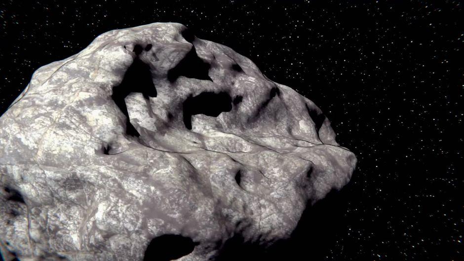 Totenkopf-Asteroid nähert sich wieder der Erde