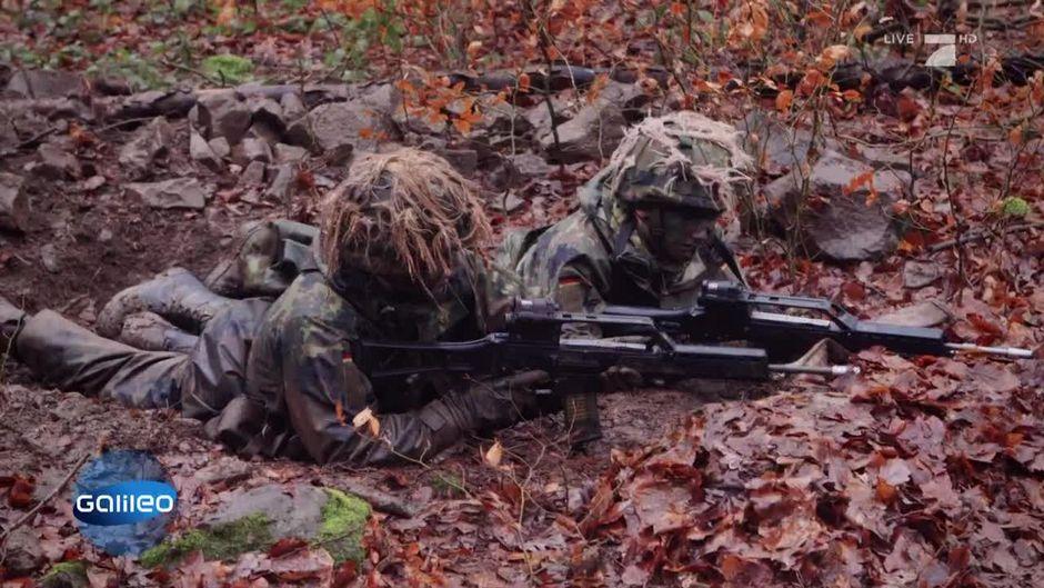 Bundeswehr: So hart ist die militärische Ausbildung