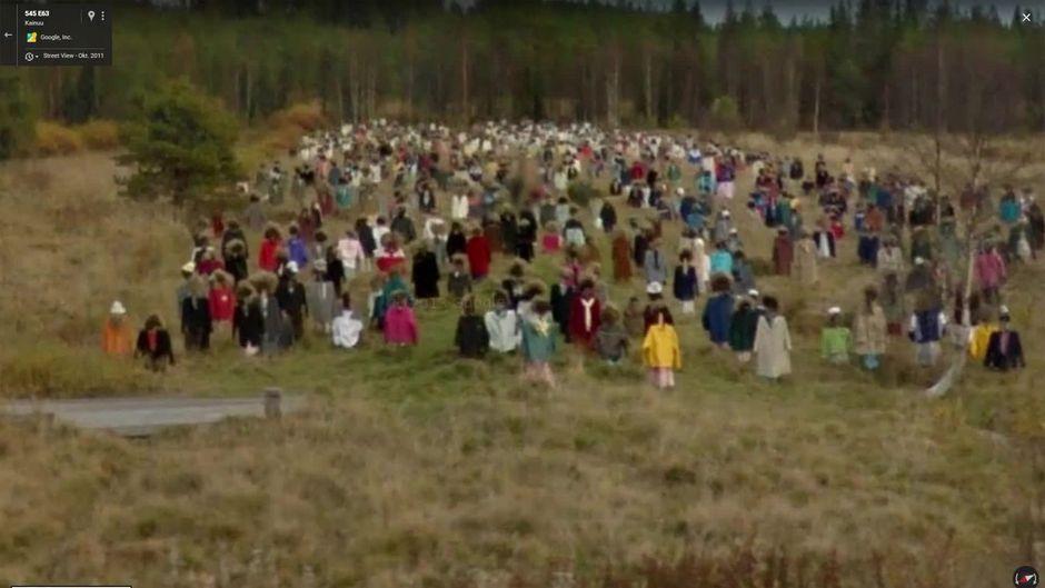 """Ein Finne sucht einen Ort bei Google Maps - und findet 1.000 """"Zombies"""""""