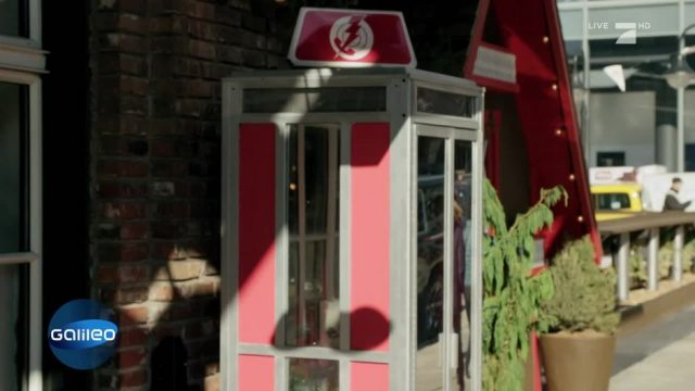 Gibt es in den USA eine Telefonzelle mit direkter Leitung zur Regierung?