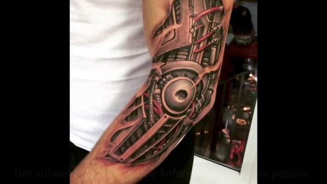 """So sieht der neue Tattoo-Trend """"Biomechanik"""" aus"""