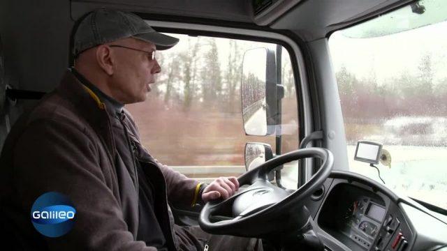 10 Fragen an einen LKW-Fahrer