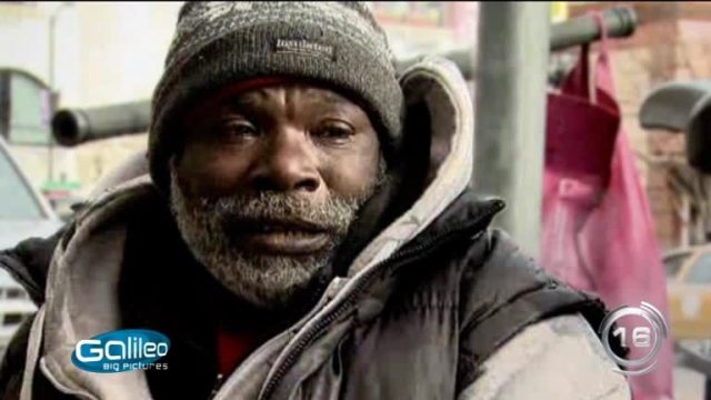 Diamant Obdachloser