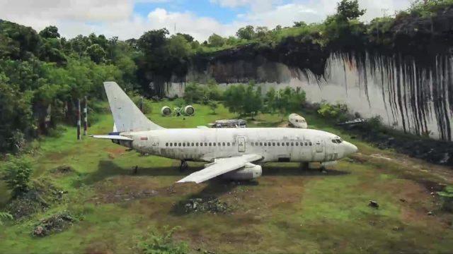 Geister-Flugzeug auf Bali: Was hat es damit auf sich?