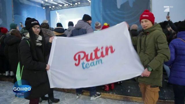 Putins erfolgreiche Propaganda-Maschinerie