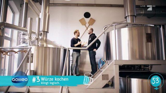 100 Sekunden: Bier brauen