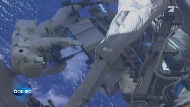 Dieser Astronaut vergisst seine Speicherkarte