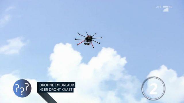 Drohnen im Urlaub: In diesen Ländern droht Gefängnis!