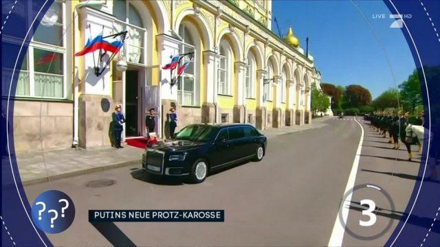 Fragen des Tages: Putins neue Protz-Karosse
