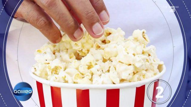 Fragen des Tages: Sehstörungen durch Popcorn?