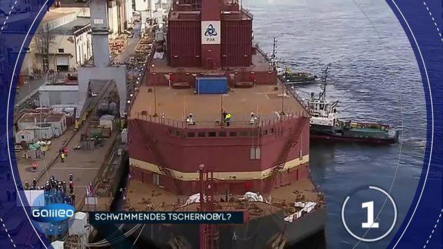 Fragen des Tages: Warum braucht Russland ein schwimmendes Atomkraftwerk?
