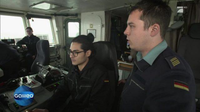 Hinter den Kulissen eines Marine Manövers