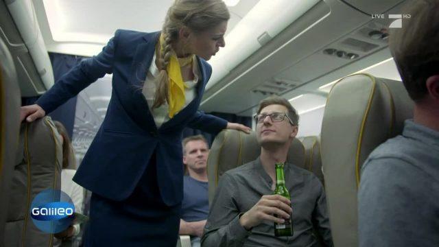 Ist mitgebrachter Alkohol im Fleugzeug erlaubt?
