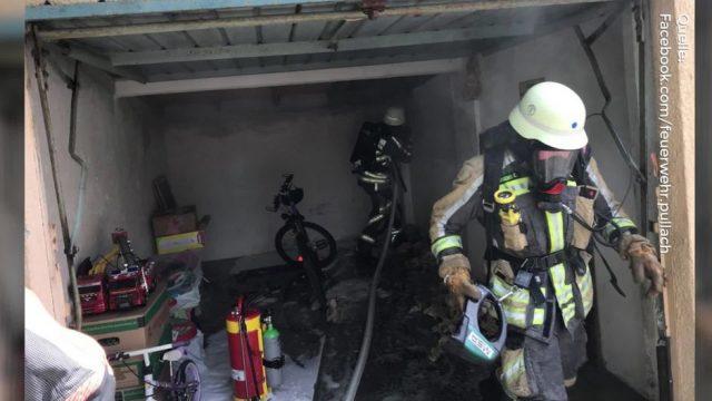 Spinnen-Jagd mit Haarspray - Frau setzt Garage in Brand!