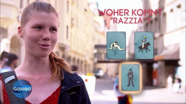 """Woher kommt das Wort """"Razzia""""?"""