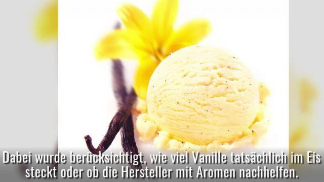 Ökotest Vanilleeis: Krebserregende Stoffe in Marken-Eis gefunden