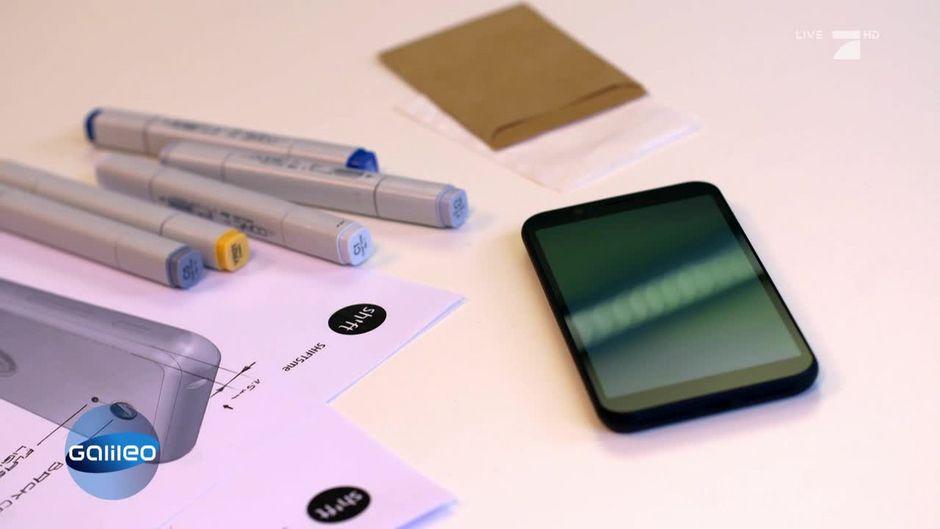 das erste deutsche smartphone. Black Bedroom Furniture Sets. Home Design Ideas