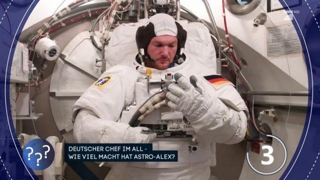 Deutscher im All: Wie viel Macht hat Alexander Gerst?
