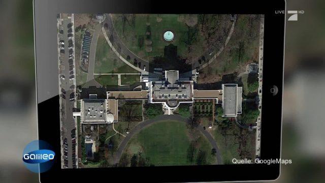 Machtzentralen von oben: Erkennt ihr die Gebäude?
