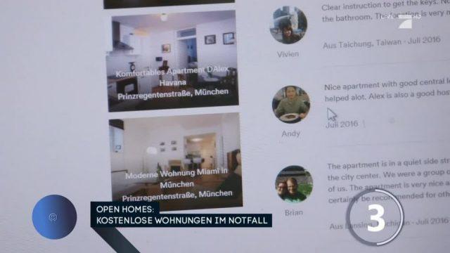 Open Homes: Kostenlose Wohnung im Notfall