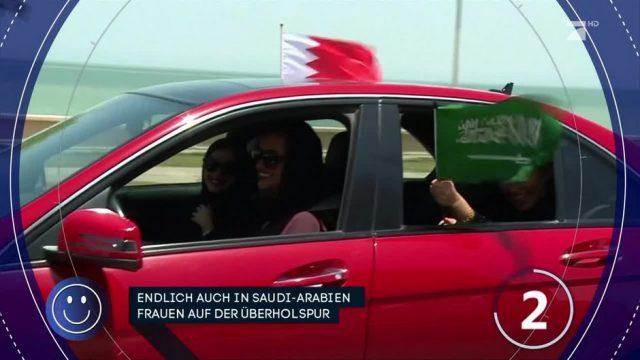 Saudi-Arabien: Fahrverbot für Frauen wurde aufgehoben!
