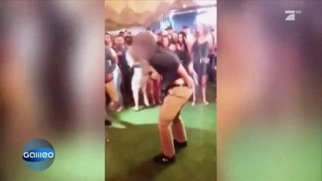 Schreckmoment: Darum löste sich bei dieser Tanzveranstaltung ein Schuss aus