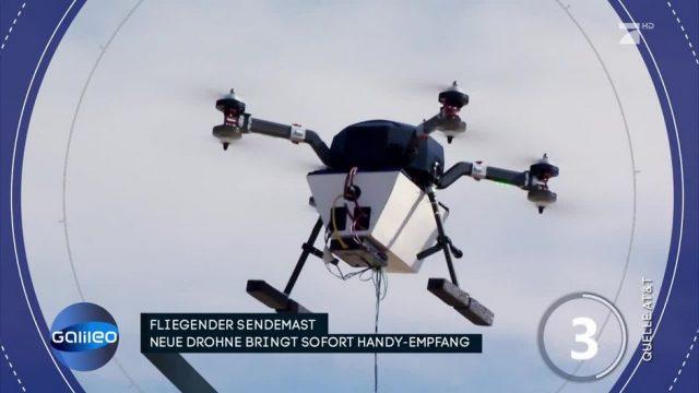 Wunder-Drohne: So bringt sie sofort Handy-Empfang