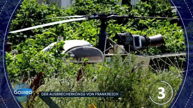 Gefängnisausbruch mit Helikopter - geht das auch bei uns?